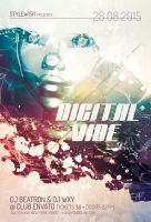 Digital Vibe Flyer by styleWish