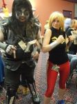 Wonder Girl and Lobo - ASTL 2015 by PuddingMcMuffin