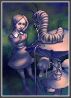 Alice and the Caterpillar by mario2mc