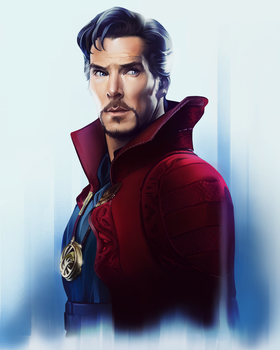 Doctor Strange - Fan Art by AndromedaDualitas