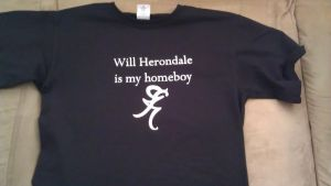 Will Herondale T-Shirt by Captain-Grossaint