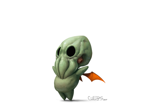 Baby Cthulhu by Arturbs