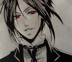 Sebastian Michaelis by Amaterasu-93