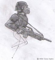 HRCU Soldier Concept. by Aliies