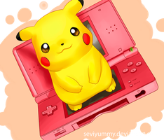 Cute Pikachu by SeviYummy
