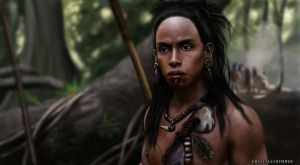 Apocalypto digital drawing by Crystalcoomber