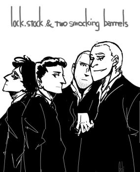 lock,stock and 2 smocking barrels by AdilJIU