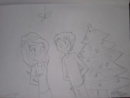 Zachary And Ellie - Happy Holidays by RobbieMelrose