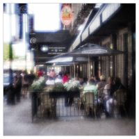 Street Cafe, Chicago IL. by pubculture