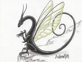 Wasp Inspired Dragon by IsilanaRith