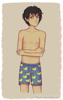 Shirtless Nico by Rhaylee