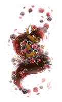 Com: Surrounded by roses by Ann-Nick