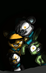 they remind me of 5 nights at freddy's xD by killerwolfcat932