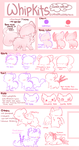 :Whipkits Reference Sheet(closed species): by PrePAWSterous