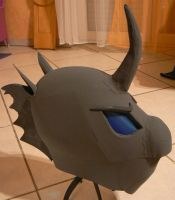 building a Changling Helmet version 0.9 by Znegil