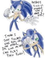 Stupid Sonic Comic by arvalis