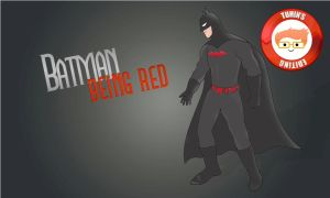 Batman...being red ~ Tuhin's Editing by tuhin98