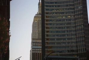NY - The Empire State Building by saint-ny