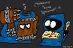 Minions are in love by Nanami-CandyShop