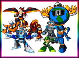Set 3 of my Robot masters by spdy4