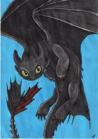 Toothless [request] by Wojak1991