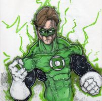 Green Lantern :green:Willpower by ChrisOzFulton