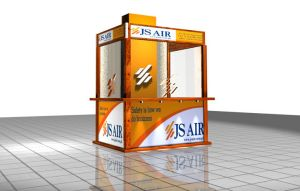 JS AIR Stall by isiza