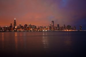 Chicago 530pm-ish by ivoryacidlust