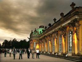 Sanssouci Palace by Lairis77