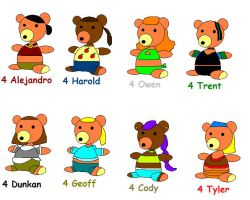 Teddys for boys by GirlCrash97