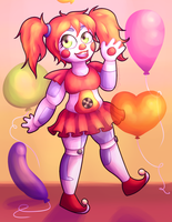Circus Baby by MegLikesCookies