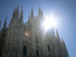 Milano and the Sun by Rigel-Black