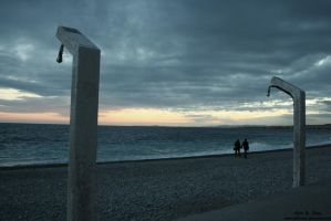 Winter in Nizza by Athanase