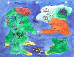World Map for Emena by baby-wicca89