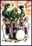 Punk Hulk for Richi by Takiusa