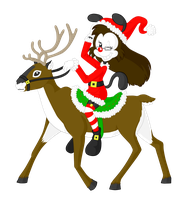 Reindeer Riding by to-lazy-for-username