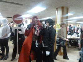 Grell and Sebastian by blackpanther135