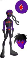 Teen Titans Oc Blackhole by YingYang-girl