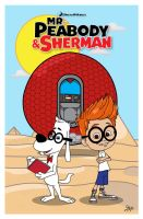 Mr Peabody and Sherman by momarkey