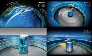 3D Boat Information Screen 3 by stereolize-design