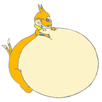 Water inflated Buizel by mastermindalien
