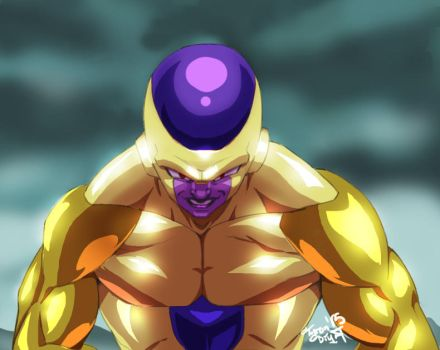 Golden Frieza!! by Jetseta