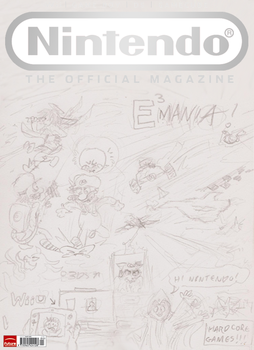 ONM MOCK COVER - E3 2011 Sk. by xychojack