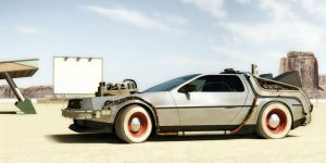Delorean by DerZwilling