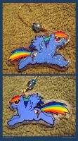 Rainbowdash - Sparkly Ornament by sunhawk