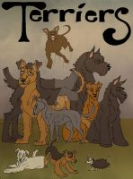 Terriers Inc. by Cerberus-Dragonfly