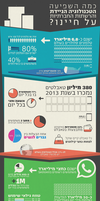 Mobile and Social Network Infographic by ImPact-Design