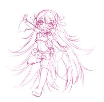 iris libra... sketch by sureya