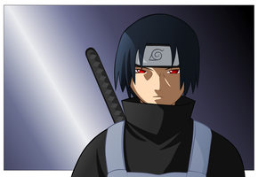 Uchiha Itachi by Ironcid