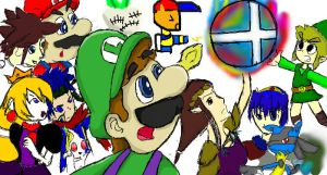 Iscribble: Get the smash ball by mariotime92